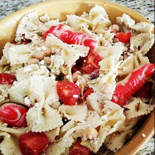 Finger Lickin Good Pasta Salad.