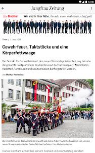 Jungfrau Zeitung screenshot 7