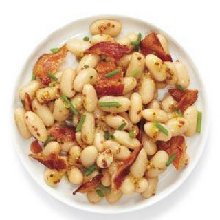 Bean Salad With Bacon and Chives