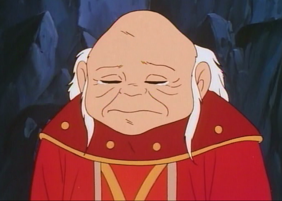 Dungeon Master crying