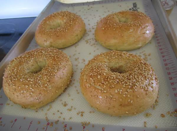 Home Made Bagels Recipe