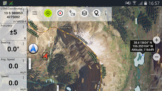 US Topo Maps Pro Android Apps On Google Play - What map data to use with utm in us
