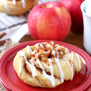 Apple Pie Filled Cinnamon Twists