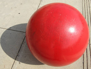 Photo: Day 35-Big Red Ball