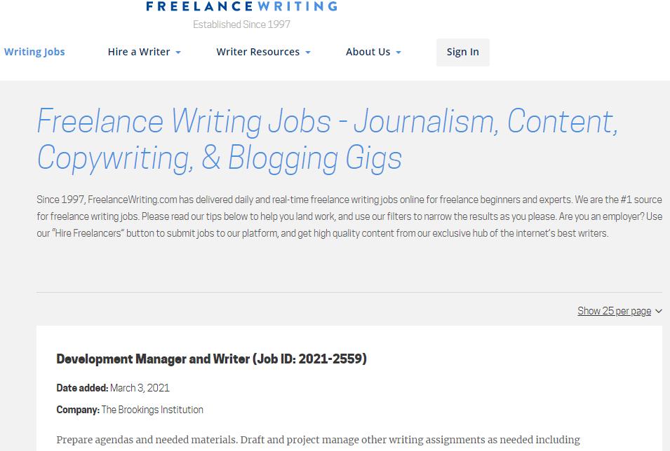 Freelance Writing Sites for Nigeria Content Writers freelance writing
