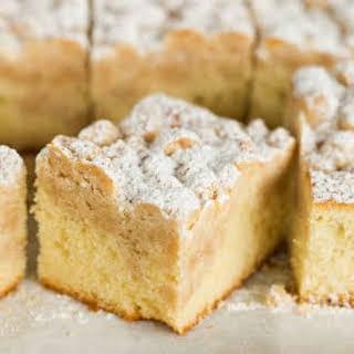 New York Crumb Cake.