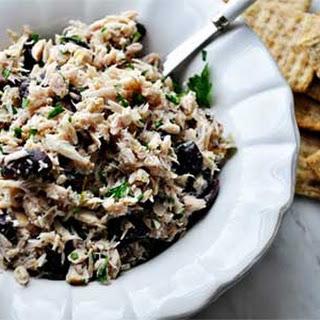 Tuna Salad with Lemon and Olives