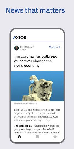 Axios screenshot 1
