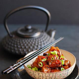 Spicy Sticky Braised Belly Pork.