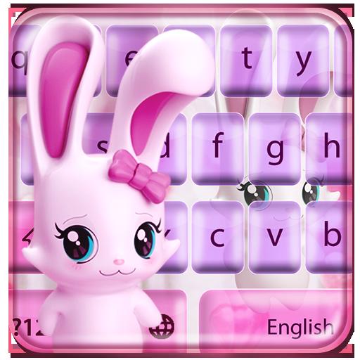 Lovely rabbit keyboard