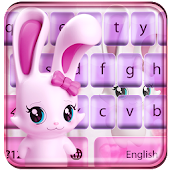 Lovely rabbit keyboard