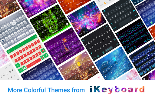Galaxy Emoji keyboard Theme for PC