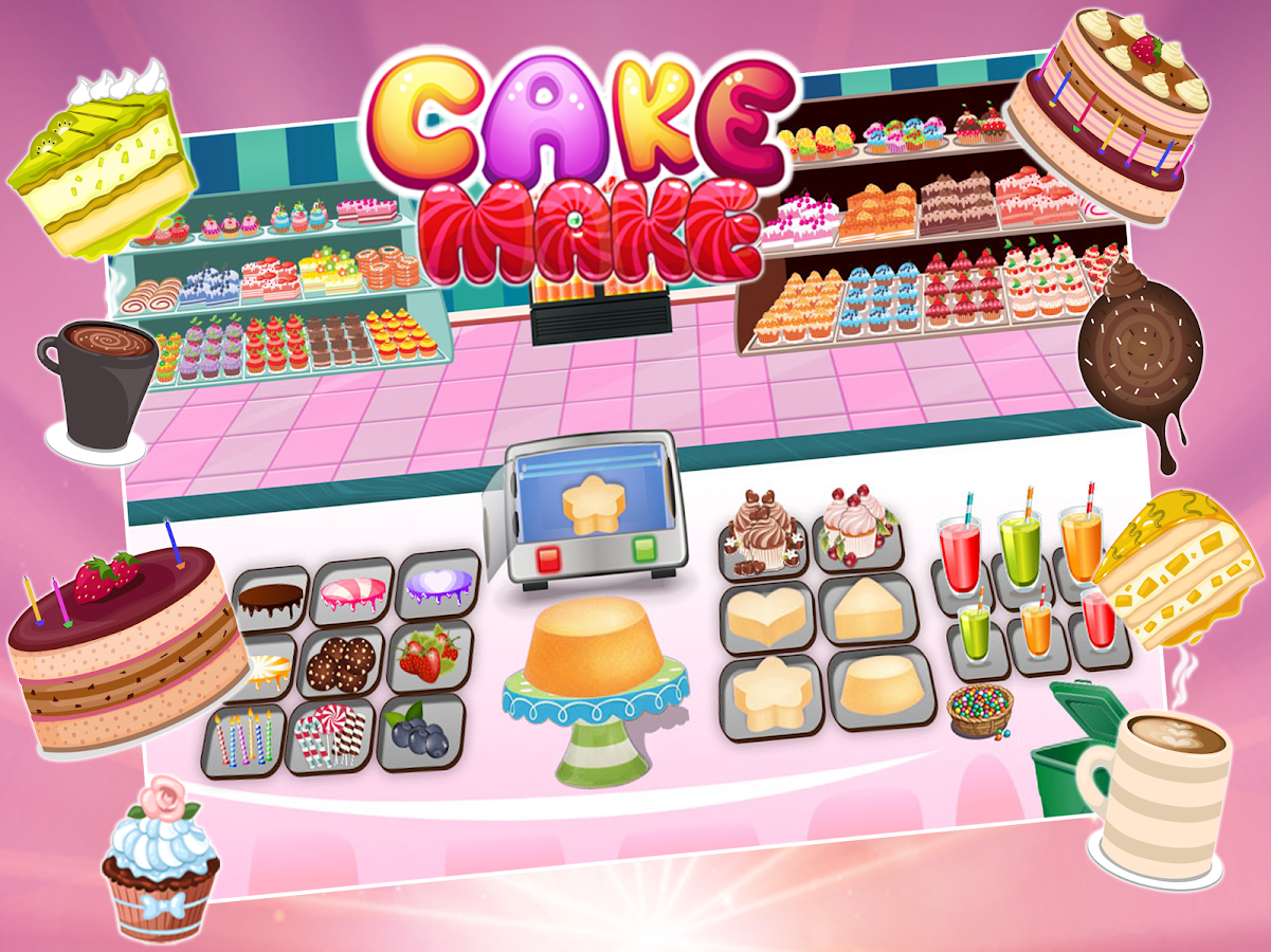 Bake And Decorate Your Own Cake Games