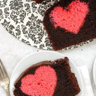 Hidden Heart Valentine's Pound Cake