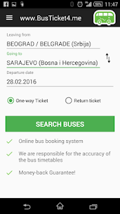 BusTicket4.me - Bus Tickets- screenshot thumbnail