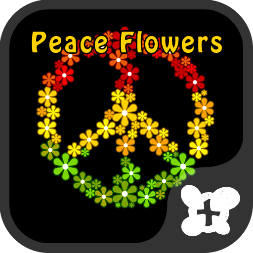 Reggae wallpaper-Peace Flowers Icon