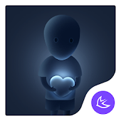 Lonely Heartbeat-APUS Launcher theme