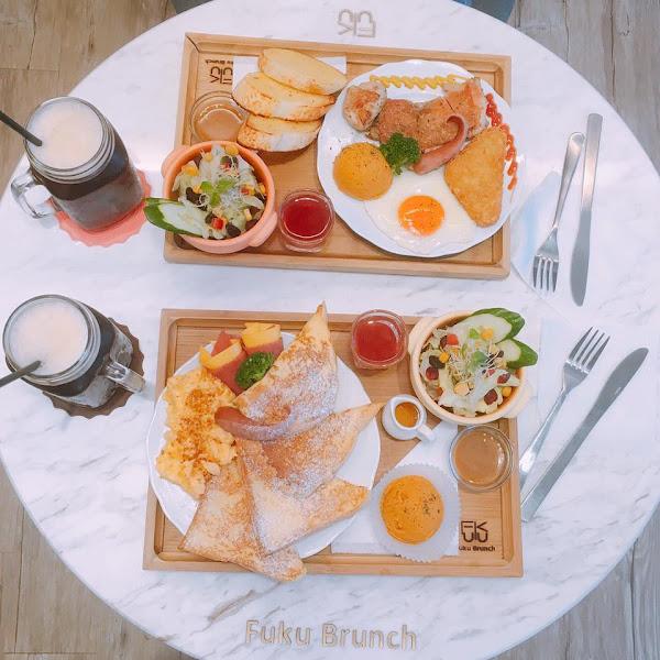 板橋 甜福。貳 Fuku Brunch 超好吃的早午餐!!