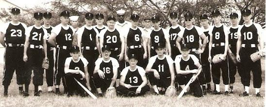 Photo: Ground Training Dept. (TD's) 1967 Softball Team