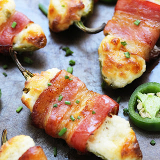 Bacon Wrapped Stuffed Jalapeno
