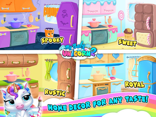 My Baby Unicorn 2 - New Virtual Pony Pet apkdebit screenshots 24