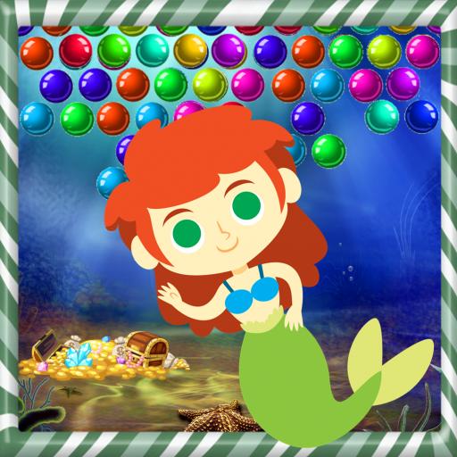 Mermaid bubble legend