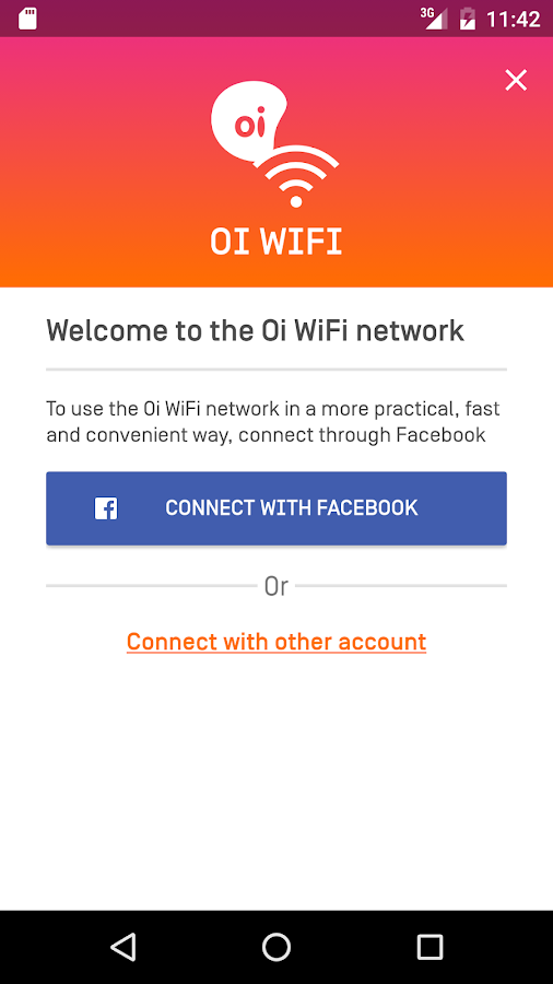 Oi WiFi- screenshot