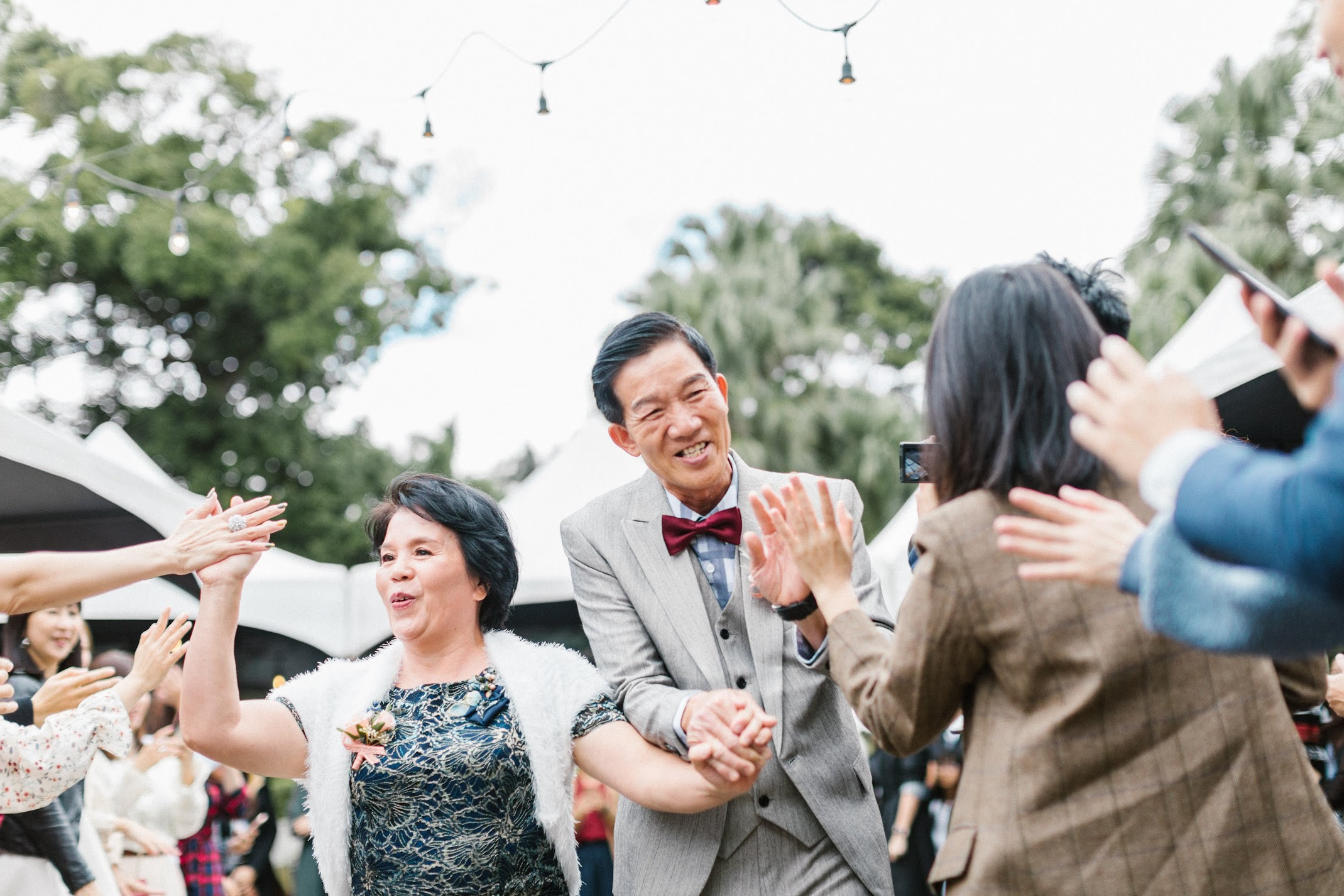 在陽明山的天使分享咖啡廳舉行美式婚禮