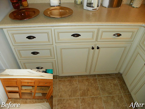 Photo: Refacing is the perfect update when there is a countertop you want to keep in place. #countetrop #cabinetry
