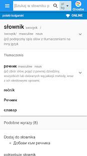 Bułgarsko-Polski słownik - náhled