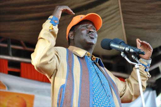 Former prime minister Raila Odinga is very selective about those he meets at his Capitol Hill office. Not every TangaTanga member gets to kiss the ring.