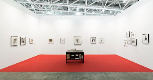 Artissima 2016, installation view, galerie frank elbaz Photo: Renato Ghiazza
