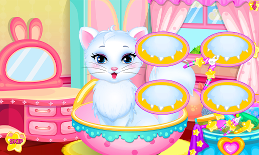 Baby kitty hair salon- screenshot thumbnail