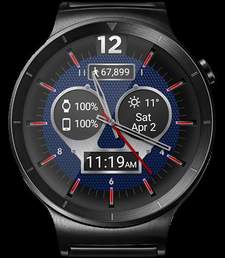 Titanium Brave HD WatchFace Widget Live Wallpaper 4.8.1 screenshots 12