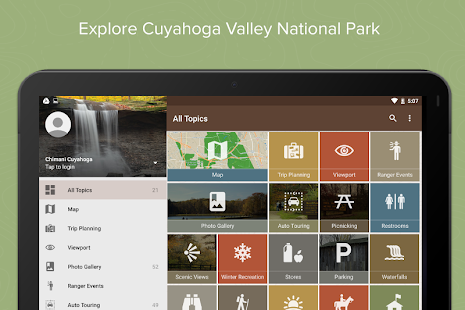 Chimani Cuyahoga Valley NP- screenshot thumbnail