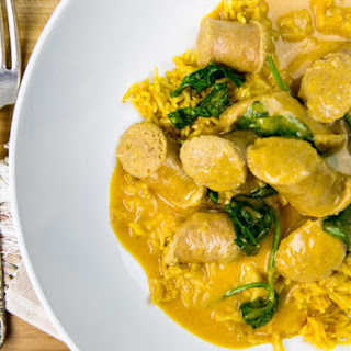 Curried Sausages With Cream Recipes