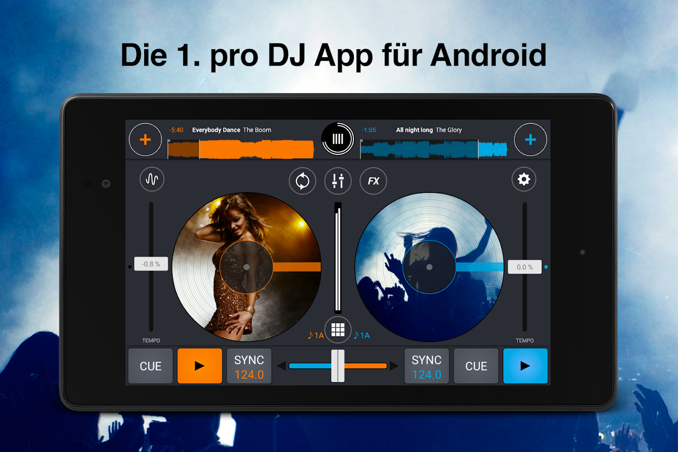 Cross DJ Pro – Screenshot