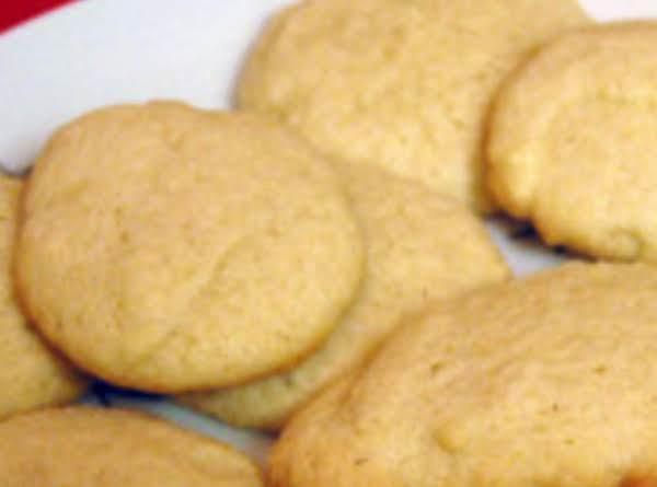 Eggnog Sugar Cookies