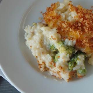 Ham Broccoli & Rice Casserole.
