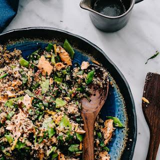 Salmon Quinoa Salad with Honey Soy Dressing Recipe