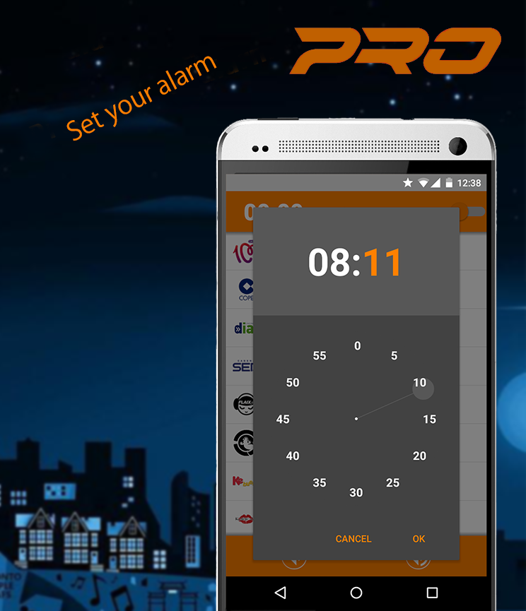 Alarm Radio PRO- screenshot