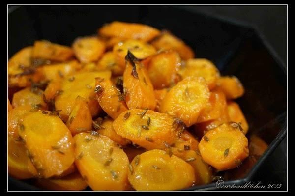 Caramelized Cumin-roasted Carrots Recipe