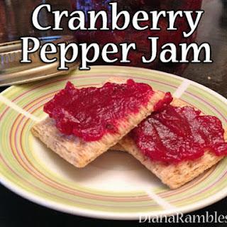 Cranberry Jam with Jalapenos