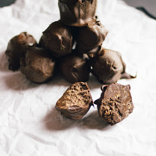 Chocolate Hazelnut Butter Protein Truffles