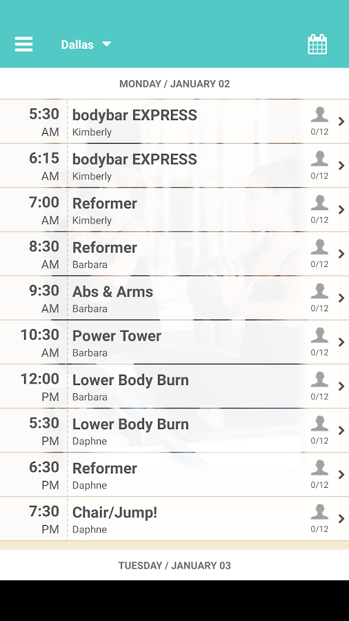 BODYBAR FITNESS- screenshot