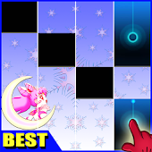 Sailor Moon Piano Tiles Magic Game
