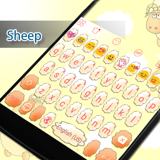 Sheep Eva Keyboard -Diy Gif 遊戲 App LOGO-硬是要APP