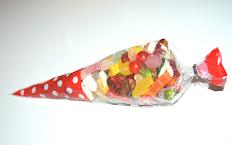 Sachet cône de bonbons en vrac 450gr