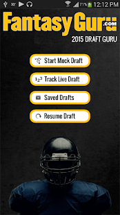 Draft Guru by FantasyGuru.com- screenshot thumbnail