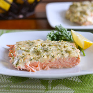 Baked Salmon With Mayo Recipes